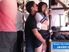 Asian Young Fucks On Warm-heartedness Bus Japan porn - HQ