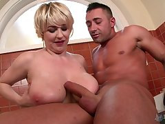 Sandra Boobies likes to play encompassing dirty sex games in revert to