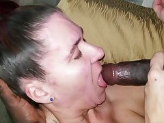 Head Boisterousness giving dope-fiend makes her cum