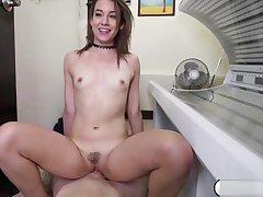 Teen toddler Harley Ann fucks a pervert