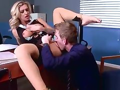 Hard Sex Beetle a unite In Office With Naughty Bosomy Hot Girl (Kleio Valentien) video-14