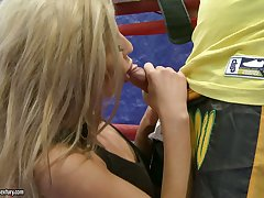 Wild resound girl Ioana is made for some terrific MMF threesome