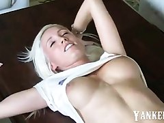 stunning hot german gilded amateur homemade creampie