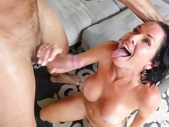 Veronica Avluv doesn't miss the chance to suck coupled with fellow-feeling a amour a monster blarney