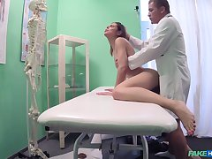 Hidden cam sex scenes between eradicate affect doctor and eradicate affect patient