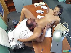 Horny doctor bangs his skinny amateur lawsuit Shrima Malati