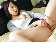 Busty Koyomi Yukihira loves touching her - Just about within reach javhd.net