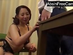 Japanese Housewife Cosy along Nabob for More Money