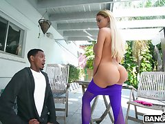 Dat ass got him speechless together with Victoria June wants some BBC treatment