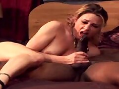 Interracial BBC Be advisable for Rejected Swinger Wifey Enjoys Fucking