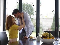 Redhead housewife Lenina Crowne moans during balls deep sex