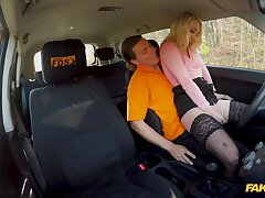 Teenage Marilyn Sugar's sex education with her driving bus