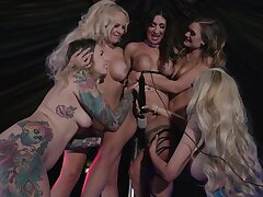 Sensual MILFs discover the beauty of sharing toys back dirty group XXX