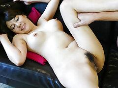 Karen Natsuhara elegant scenes of arousing hardcore