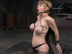 Hardcore torture session with busty blonde porstar Dee Williams