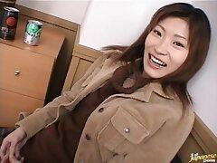 Naughty Asian girl Ichiya Kazumi gives aficionado and rides well