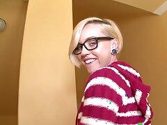 Polemical mart slut Miley May moans during hardcore fucking