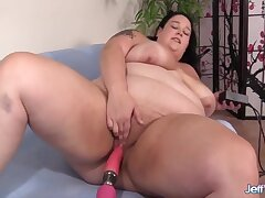 Dildos Vs Machines With Horny Bbws Compilation With Valhalla Lee, Sinful Samia And Simone Debu