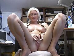 Nothing pleases Krystal Niles as playing with their way tight pussy