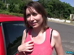 Russian Babe Fucks In The Boonies