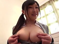 Japanese amateur chick gets screwed overwrought a rock solid Asian dick