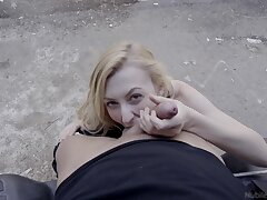 Outdoors video be advantageous to skinny Alexa Grace procurement fucked with doggystyle
