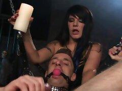 Kinky BDSM video of a male slave procurement pleasured by Daisy Rock