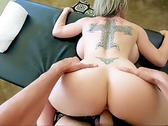 Marvelous giant breasted MILF Dee Williams is made to ride stalwart cock
