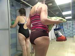 Public shower lodgings hidden cam