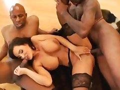 Liisa Ann Tantalizing Painless Hell Interracial Gangbang Porn Clip