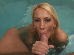 Naughty Blondie Hair Lady Infant Sucking Off Some Dude B - blowjob