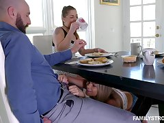 nothing is better for Athena Faris, than a facial after wild and hard sex