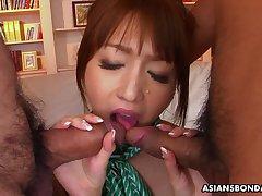 Nasty Izumi Tachibana is quibbling on her husban