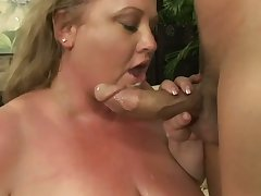 Sexy BBW with huge tits and big ass shows that having a big assembly is awesome