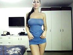 The most erotic italian brunette