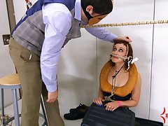 BDSM together with a slave role is staggering permit for Mistress Margot